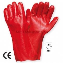 Manusi Protectie Vinyl Red