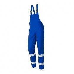 Pantalon cu Pieptar cu benzi reflectorizante